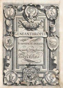 Benedicti Sinibaldi Leonissani et son fameux manuel scolaire : Geneanthropeiae