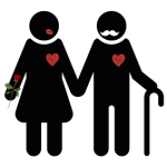 old-couple-silhouette-image