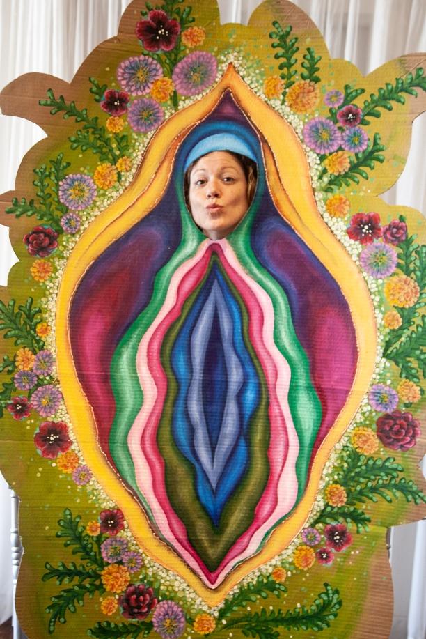 """""""Face de gland"""", oeuvre de Nancy Labrie - crédit photo > Martin Ruel"""