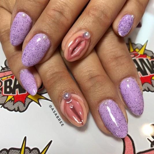 vagina nails
