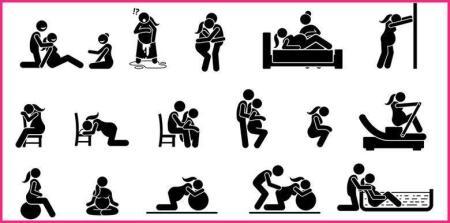 positions-accouchement